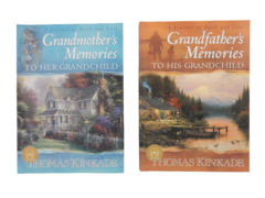 Thomas Kinkade Grandfather's Grandmother's Memories To Their Grandchild Journals