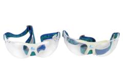 Lot of 2 Z Leader Safety Glasses Elastic Headband Strap Silicone Cushion Canada