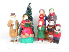 Lemax Dickensvale Collectibles Porcelain Group Carollers 1995