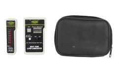 Milestek Uni-Nework Modular Cable Tester Remote Terminator Untested As Is Case