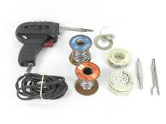 Vintage Wen Soldering Iron Gun Model 100 w/ Nokorode Soldering Paste Tested Wire