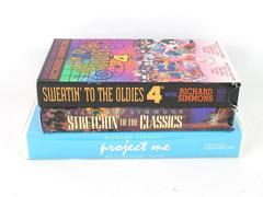 Set of 3 VHS Richard Simmons Stretchin to the Classics Sweatin Oldies Project Me