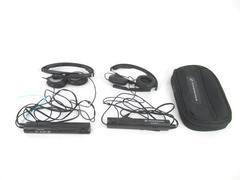 Lot of 2 Sennheiser PXC 250 Noise Cancelling On-ear Headphones Tested Works 2006