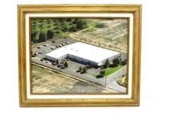 """Vintage Framed Aerial Photograph Freelin-Wade Building Oregon 17.5"""" x 14.5"""""""