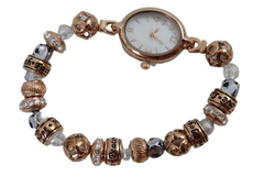 Bradford Exchange Watch Nature's Healing Moments Copper Beaded 2016