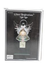 Dickson's Glass Inspirations Glass Angel Night Light Original Box