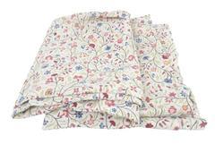 "IKEA Alvine LJUV Button Closure Pillow Case Set 29"" x 19.5"" Red Blue Floral"