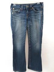 True Religion Jeans Denim Bootcut Becky Medium Wash Low Rise Women's Size 30