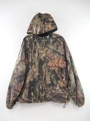 Cabela's Herter's Coat Jacket 100% Polyester Hood Camouflage Hunting Men's XL
