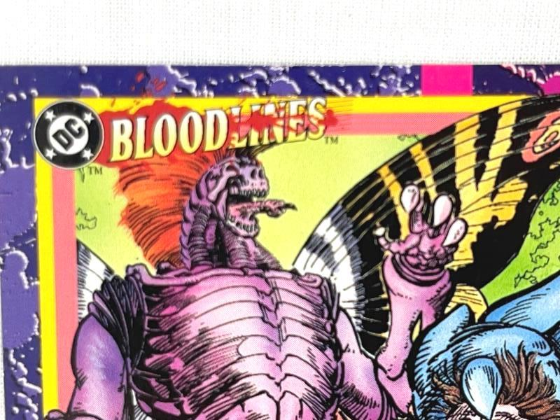 Lot of DC Comics Bloodlines Collectible Trading Cards Set Of 1-78 Sky Box