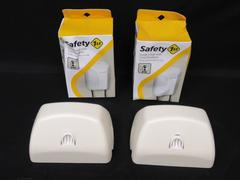 Lot of 2 Safety First Outlet Covers With Cord Shorteners 48308 Stores Up To 4 Ft