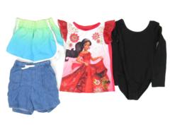 Lot of 4 Kids Clothing Items Size 7/8 Disney Athletic Works Danskin Now
