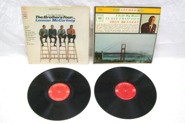 Lot Of 6 Pop And Rock Billy Mure The Brothers Four Vinyl Record