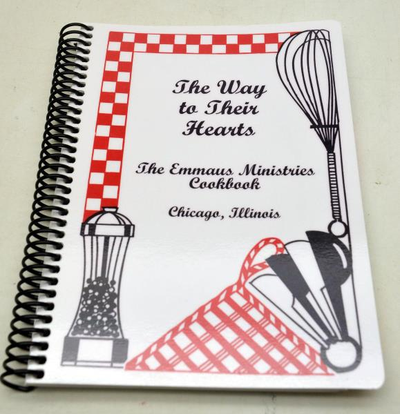 The Way to Their Hearts Cookbook Chicago, IL 2010 Emmaus Ministries Christian