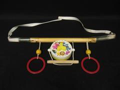 Vintage Childhood Interest Toys Musical Cradle Gym Mobile Works