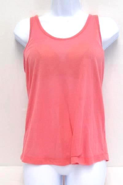 4 Pcs Mixed Lot Women's Size S Pink Tank Tops Crop Mid Riff Sheer Lace Muscle T