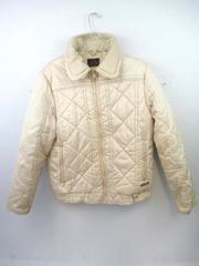 Vintage Activa Jacket Coat Puffer Gold Beige Women's Size L
