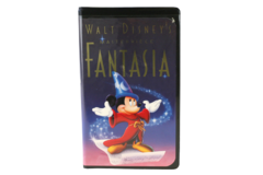 Fantasia Walt Disney's Masterpiece Home Video 1991 VHS 1132