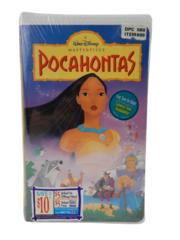 Pocahontas VHS Movie Walt Disney's Masterpiece 5741 Factory Sealed