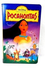 Pocahontas VHS Movie Walt Disney's Masterpiece 5741