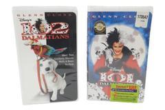 Lot 2 Disney VHS Movies 101 Dalmatians 102 Dalmatians Live Action Glenn Close