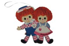 Vintage 1973 Raggedy Ann And Andy Transistor Radio For Repair