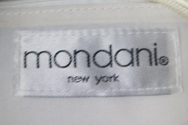 Mondani New York White Handbag W/ 3 Pockets Short Shoulder Strap