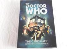 Doctor Who The Card Game Classic Doctors Edition BBC Ages 14+ 2-4 Players