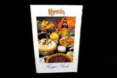 Kahlua Recipe Book 1986 Cookbook Color Paperback Booklet