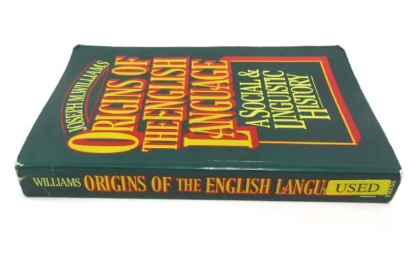 Origins Of The English Language A Social & Linguistic History Williams USED BOOK