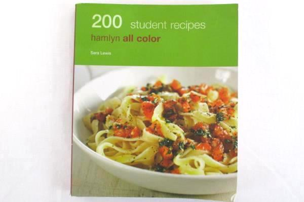 2 Recipe Cook Books Bon Appetit Quick & Delicious and 200 Student Recipes Hamlyn