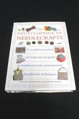 The Encyclopedia of Needlecrafts by Ganderton & Wood Hardcover w/ Plastic Jacket