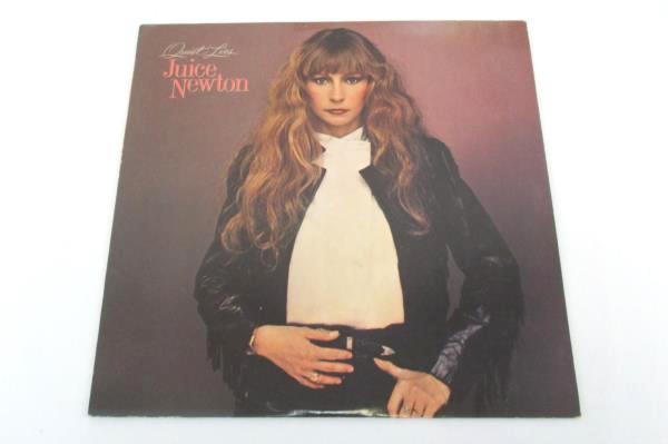 Lot of 2 Juice Newton Quiet Lies Juice LP Record Vinyl Capital Records