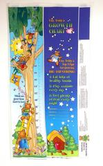 Possibilities for AVLYN Tiny Teddys Growth Chart Fabric Panel UNCUT DIY