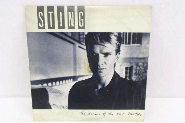Sting The Dream Of The Blue Turtles Record Vinyl LP The Police Lyric Paper