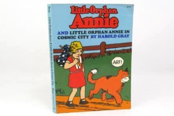 Little Orphan Annie And Little Orphan Annie In Cosmic City 178 pages