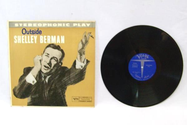 Lot of 2 Shelley Berman Outside The Edge Shelley Berman Vinyl Record