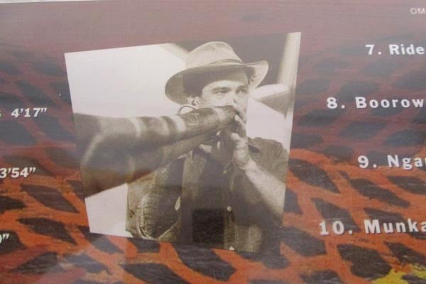 Charlie McMahon & Gondwana CD Travelling Australian Didgeridu Music OM8998D