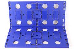 Lot Of 2 Large Blue Darda Baseplates