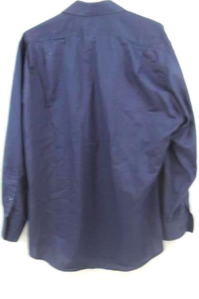 Van Heusen Men's Blue Button Up Long Sleeve Shirt Size 16.5