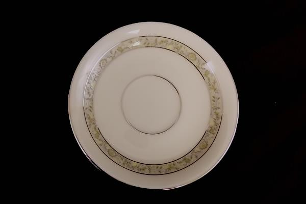 Lenox Springdale Platinum Trim Replacement Saucer For Footed Cup