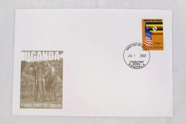 Uganda Tuvalu First Day Covers and Mint Stamps In Original Shipping