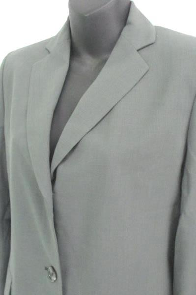 New Banana Republic Dark Gray Blazer 100% Wool Women's Size 4 MSRP $198.00