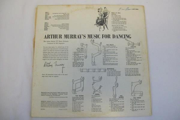 RCA Victor Records Arthur Murray's Music For Dancing 1958 Vinyl Record
