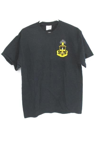 National Honors T-Shirt Alpha Lambda Delta Black Short Sleeve Crew Adult Large