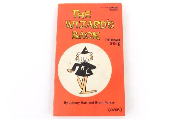 The Wizard's Back The Wizard Of ID #6 Johnny Hart Brant Parker Comic Book