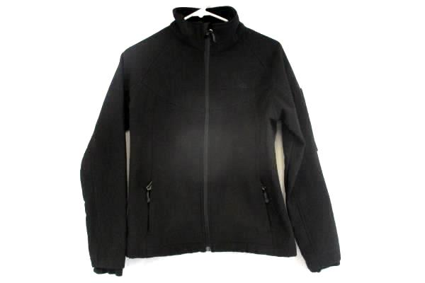 SNOZU Women's Platinum Collection Soft Shell Black Jacket Coat FLEECE Size Small