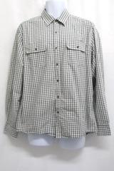 Reaction Kenneth Cole Sage Green Dress Shirt Button Up Long Sleeve Men's XL