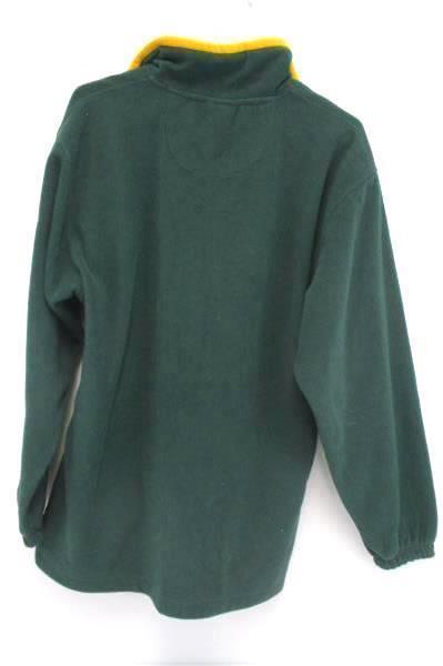 University Oregon Ducks UO Men's Oldvarsity Green Pullover Fleece Jacket Size M
