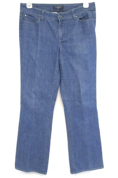 ANN TAYLOR Denim Signature Boot Jeans Stretch Mid Rise Women's Size 10